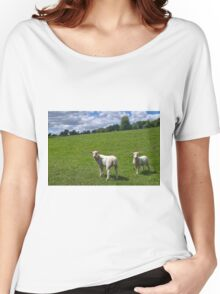 Lambs In Summertime 2 Women's Relaxed Fit T-Shirt
