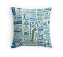 Vintage Press Throw Pillow