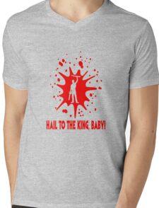 "Ash ""Hail to the King, Baby!"" Mens V-Neck T-Shirt"