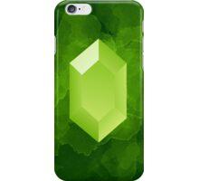 Green Rupee iPhone Case/Skin