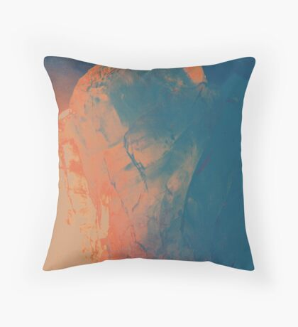 Psychedelic Crystal III Throw Pillow