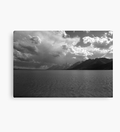 Jackson Lake - Grand Tetons Canvas Print