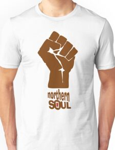 Northern Soul - Brown Unisex T-Shirt