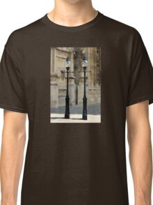 Lampposts Outside the Houses of Parliament Classic T-Shirt