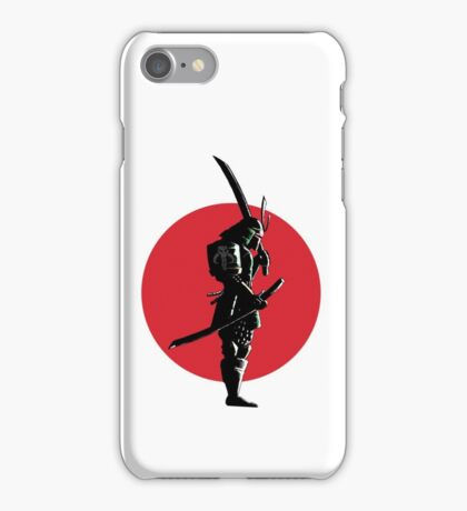 Bounty Hunter Samurai iPhone Case/Skin