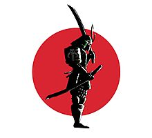 Bounty Hunter Samurai Photographic Print