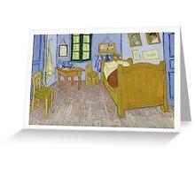 Vincent Van Gogh - Bedroom In Arles 1889 Greeting Card