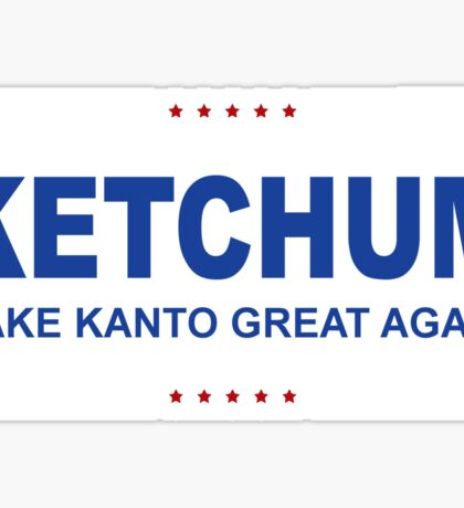 Ketchum Trump Sticker