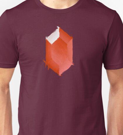 Red Rupee Paint Unisex T-Shirt