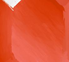 Red Rupee Paint Sticker