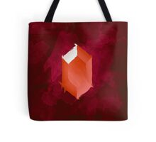 Red Rupee Paint Tote Bag