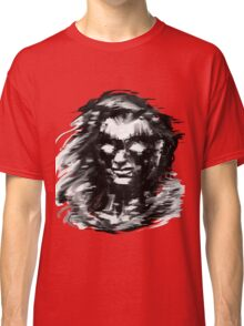 Portrait on red Classic T-Shirt