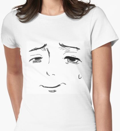Smug Face Womens Fitted T-Shirt