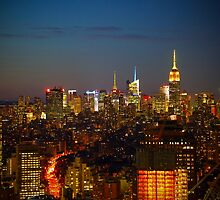 The Spires of Manhattan. by TimTruong101