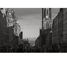 The Royal Mile. Photographic Print