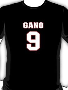 NFL Player Graham Gano nine 9 T-Shirt