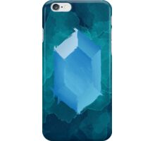 Blue Rupee Paint iPhone Case/Skin