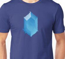 Blue Rupee Paint Unisex T-Shirt