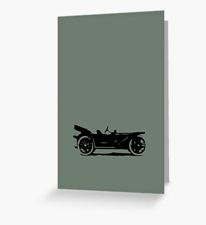 Vintage Car Greeting Card