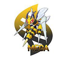Mega Beedrill Photographic Print