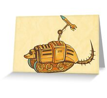 Armed-A-Dillo Greeting Card