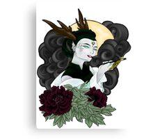The Opium Goddess Canvas Print