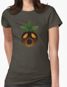 Deku Mask Paint Womens Fitted T-Shirt