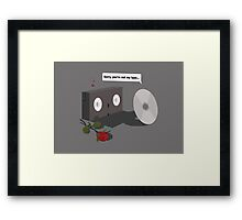 You're not my type Framed Print
