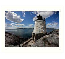 Rhode Island Lighthouse Art Print
