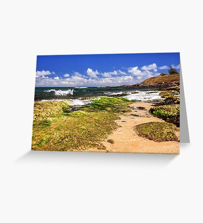 Ho'okipa Beach Maui Greeting Card