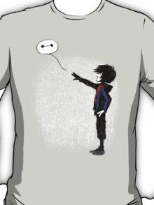 Boy with Robot T-Shirt