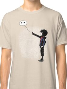 Boy with Robot Classic T-Shirt