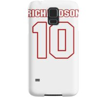 NFL Player Paul Richardson ten 10 Samsung Galaxy Case/Skin