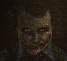 Original Heath Ledger as The Joker by Will Dudley