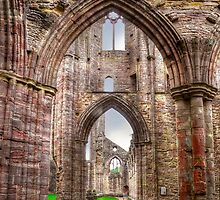 Tintern Abbey Interior View IV by Skye Ryan-Evans