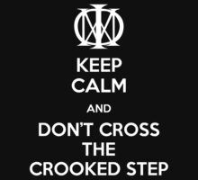 Dream Theater - Don't Cross The Crooked Step (White) by Lasher