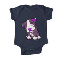 Purple Bully Pup  One Piece - Short Sleeve