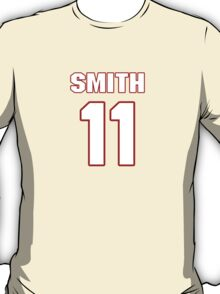 NFL Player Alex Smith eleven 11 T-Shirt