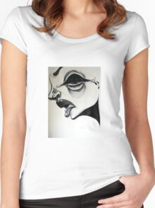 Lashes Women's Fitted Scoop T-Shirt