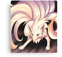 Stand Back :: Ninetails Canvas Print