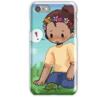 laurens & his turtle iPhone Case/Skin