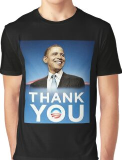 Thank you OBAMA Graphic T-Shirt