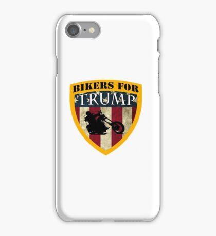 bikers-for-trump iPhone Case/Skin