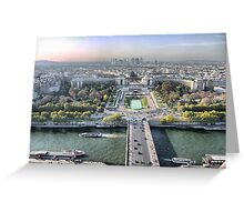 An Eyeful from the Eiffel Greeting Card