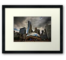 Chicago Bean Framed Print