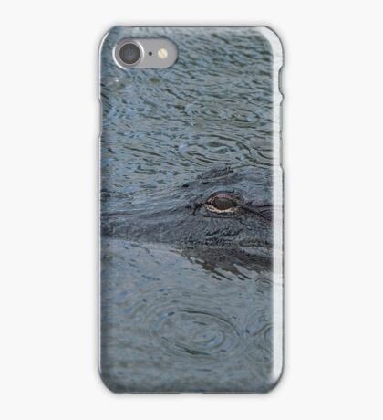 Rainy Gator iPhone Case/Skin