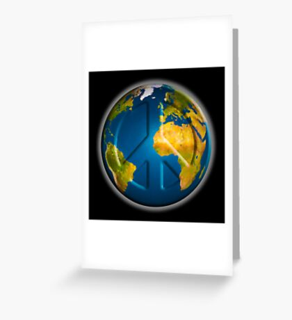 World Peace 2017 Greeting Card