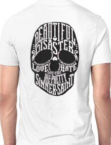 Beautiful Disaster Skull Unisex T-Shirt