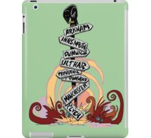 This Way Lies Madness iPad Case/Skin