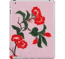 Red Flowers from Amphai iPad Case/Skin